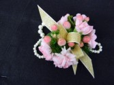 Berry Pink Corsage Wrist Corsage