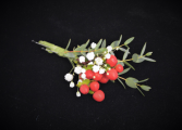 BERRY SPECIAL BOUTONNIERE FOR IN STORE PICK UP ONL BOUTONNIERE