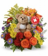 Berry Well Bear Teleflora - 2 Gifts in one!