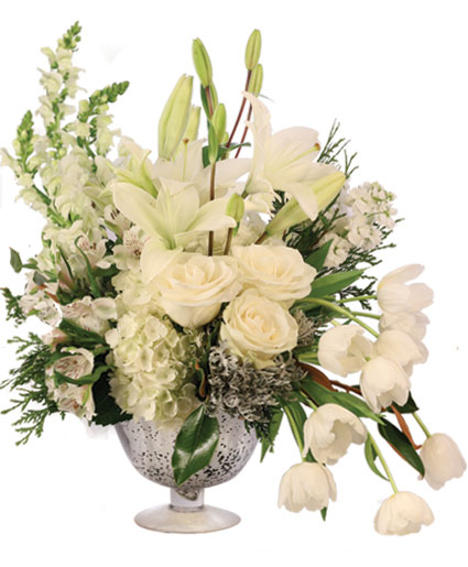 Bespoke Ivory Flower Arrangement