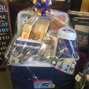 Best Dad and Gift Ever! Cooler Basket in Red Lake, ON | FOREVER GREEN GIFT BOUTIQUE