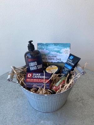 Best Dad Around Gift Basket in La Grande, OR | FITZGERALD FLOWERS