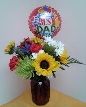 Best Dad Bouquet Fresh Arrangement