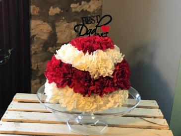 Best Dad Flower Cake Not Edible Flower Cake