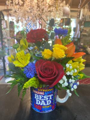 Best dad flower mug :)  in Long Beach, MS | LOIS FLOWER SHOP