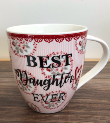 Best daughter ever mug Mug