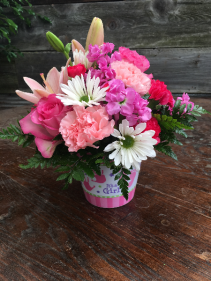 Best Day Baby Girl Bouquet