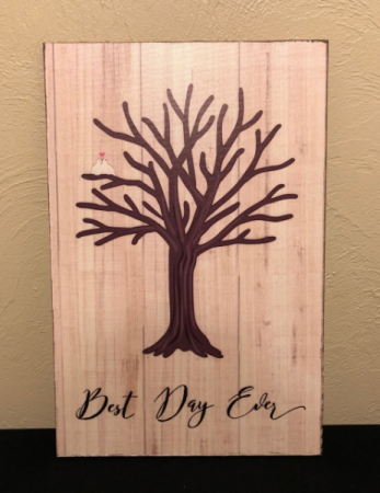 Best Day Ever... Thumbprint Guest Book Sign