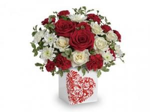 Forever Bouquet Valentine Bouquet in Canon City, CO | TOUCH OF LOVE FLORIST AND WEDDINGS
