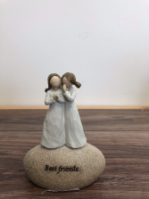 Best Friends ornament Ceramic ornament