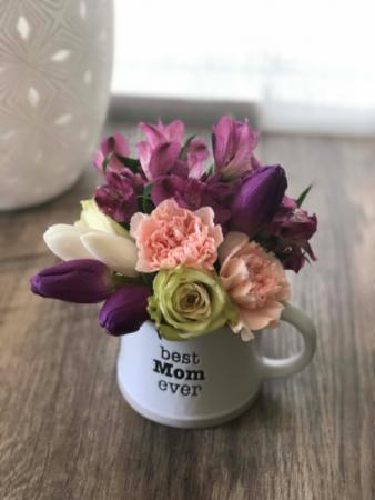 Best Mom Ever Mug Arrangement