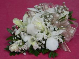 Best of Both Worlds Prom Corsage in Lincroft, NJ | Lincroft FAB Florist & Gifts/Silver Tulip Florist