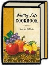 BEST OF LIFE COOKBOOK by Louise Vitamia and Vitamia Family of River Edge, New Jersey in River Edge, NJ | Cestino Doro-Carmine's Teahouse Cafe