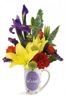Mugable® Best Wishes 17 Arrangement
