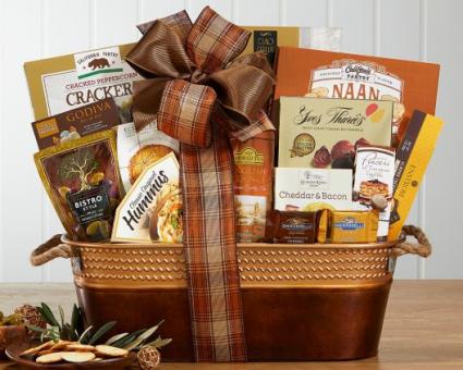 Best Wishes Gift Basket Arrangement