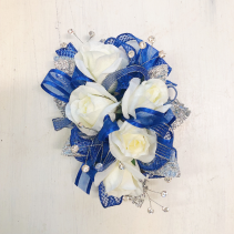 Bethany Blue Corsage