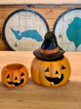 Bewitching Blooms Halloween Arrangement