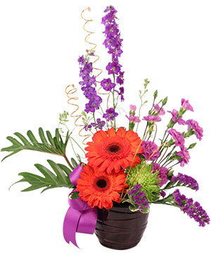 Bewitching Blossoms Floral Arrangement in Sylmar, CA | FLOWERS 4-U