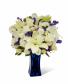 Beyond Blue™ Bouquet - Blue & White