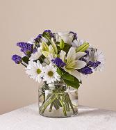Beyond blue Clear Vase
