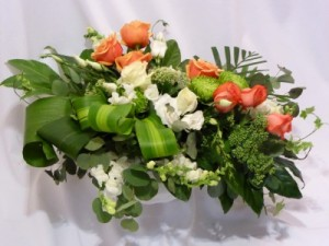 BEYOND CHERISHED MEMORIES - Sympathy - Funeral Flowers, Casket or Sprays in Prince George, BC | AMAPOLA BLOSSOMS FLOWERS