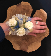 Big and Beautiful Extra Large Wrist Corsage