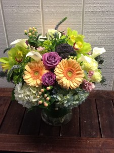 Big and Beautiful  Lush Vase Arrangement in Fairfield, CT | Blossoms at Dailey's Flower Shop