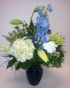 Big Boy Blue Baby Boy Arrangement