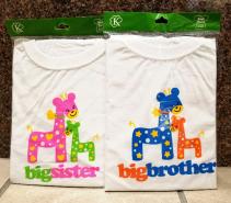 Big Brother/Sister Tshirt Baby