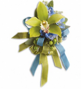 BIG NIGHT ORCHID CORSAGE PROM