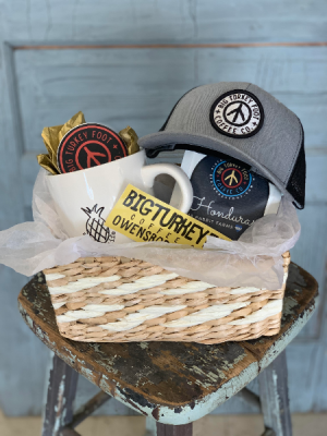 Big Turkey Foot Coffee Gift Basket in Owensboro, KY | Ivy Trellis Floral