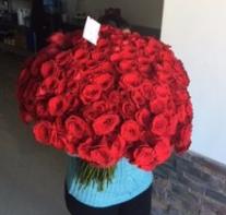biggest bouquet