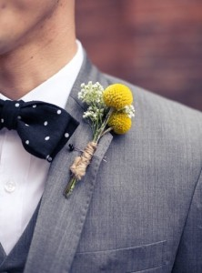Billy Balls Boutonnière  in Toronto, ON | BOTANY FLORAL STUDIO