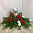 Poinsettia Angel Artificial Arrangement