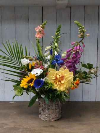 Birchwood Vase Custom