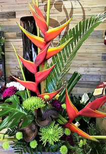 Under the Sea Tropical Arrangement