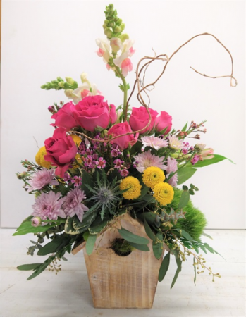 Bird House Arrangement- Full of Surprises!