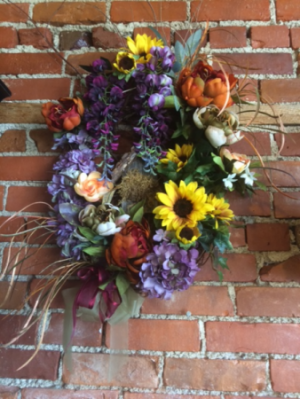 Bird House Wreath  in Fowlerville, MI | ALETA'S FLOWER SHOP