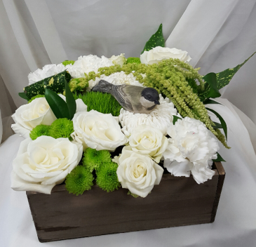 Bird in a Box Fresh Floral Design