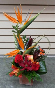 Sweet Little Paradise Arrangement in Calgary, AB | FIRST CLASS FLOWERS LTD.