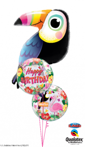 Birds of a Feather Birthday Balloons