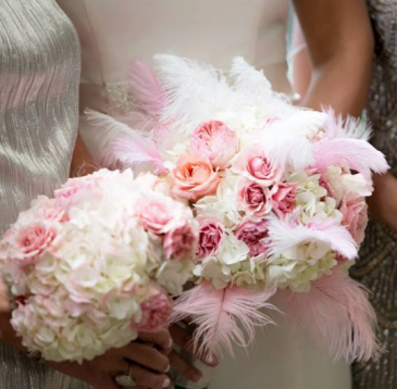 Birds of a feather Bridal Bouquet