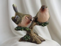 Birds on Branch Ceramic Birds on Branch