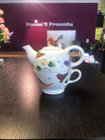 Birds Tea for One Set Gift Item