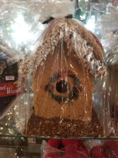 Birdseed Birdhouse Christmas
