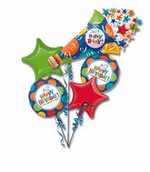 Birthday Balloon Bouquet  WFB 101