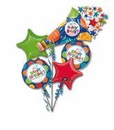 Birthday Balloon Bouquet  WFB 101