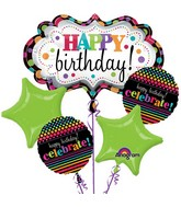 Birthday Balloon Bouquet  WFB 203