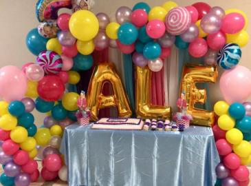 Birthday Balloon Garland  Balloon Garland