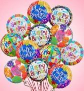 Birthday Balloons Mylar